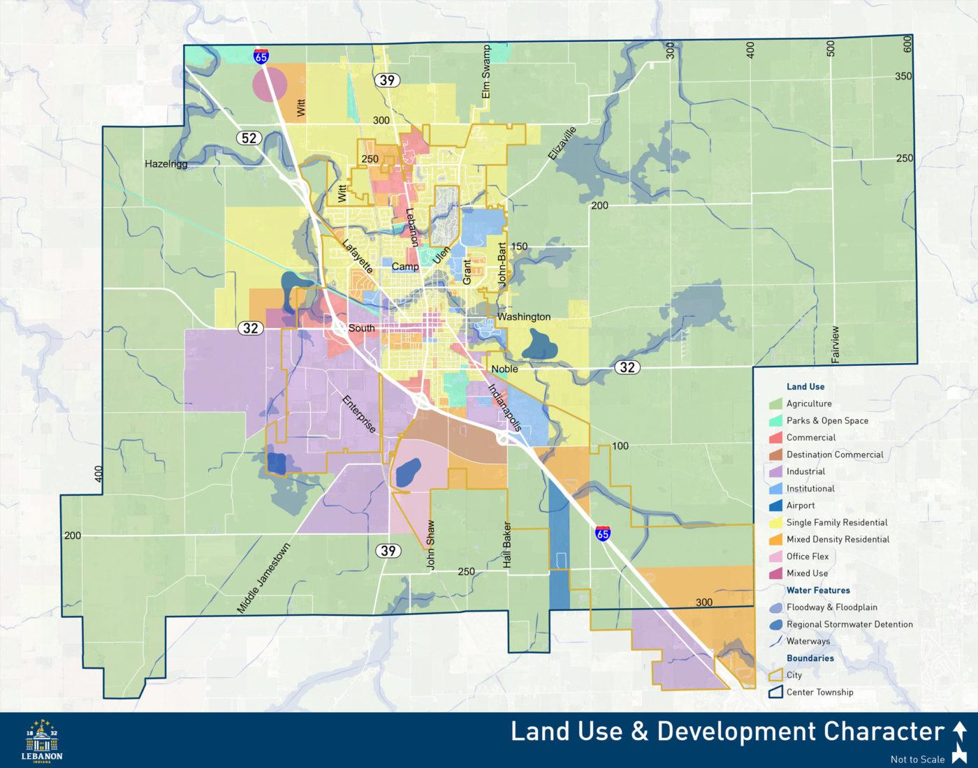 LAND USE & DEVELOPMENT CHARACTER