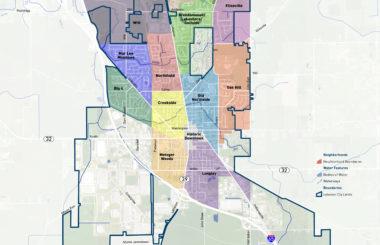 HOUSING & NEIGHBORHOODS MAP