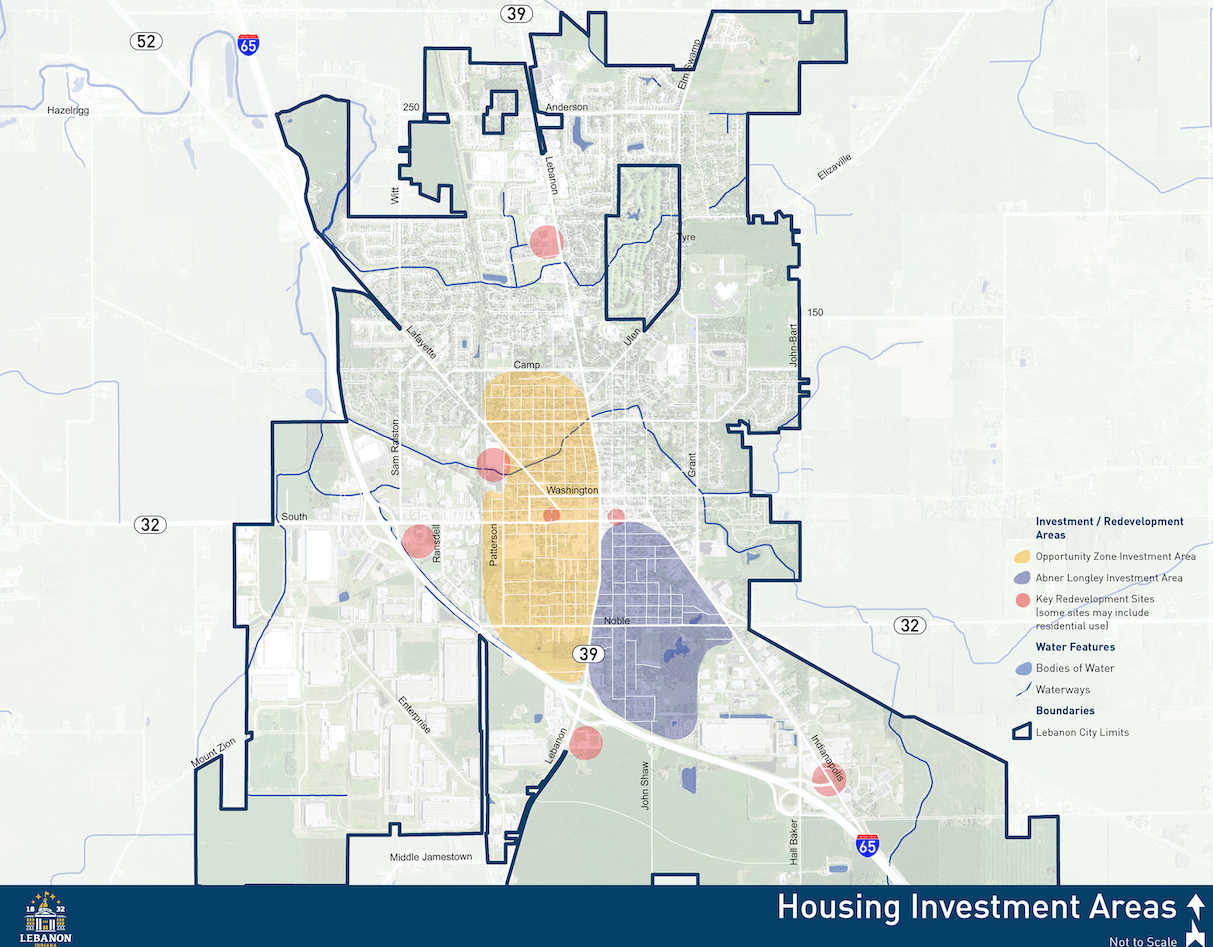 HOUSING INVESTMENT AREAS MAP
